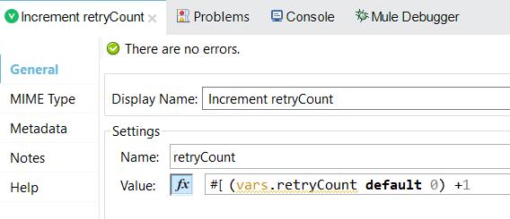 Retry Mechanism - Until Success Vs Flow Reference
